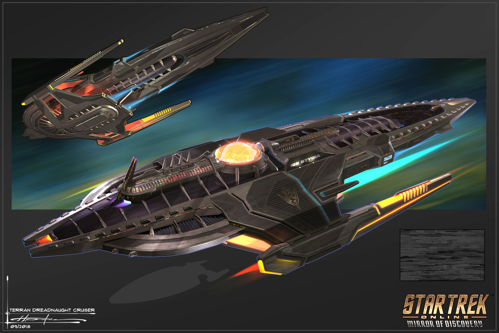 Styx Terran Dreadnought Cruiser