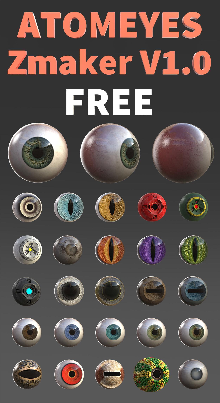 ArtStation - Atomeyes Zmaker V1 0 FREE, Lisian Mennella
