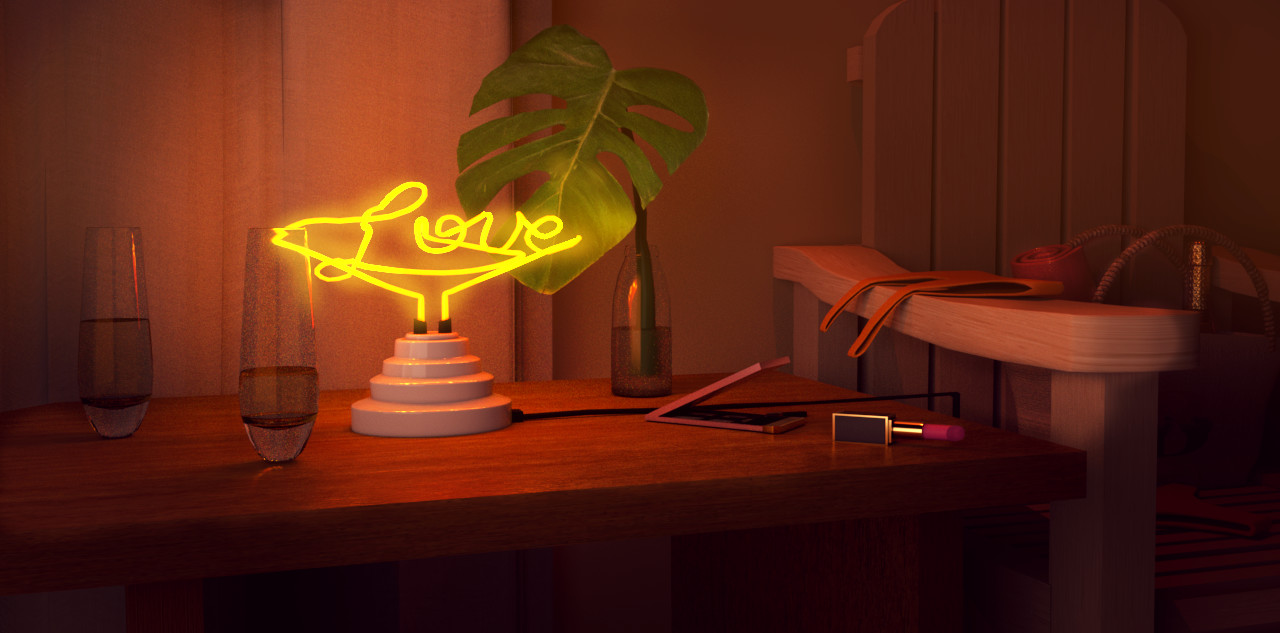 Eimy Fernandez - Neon Love Sign