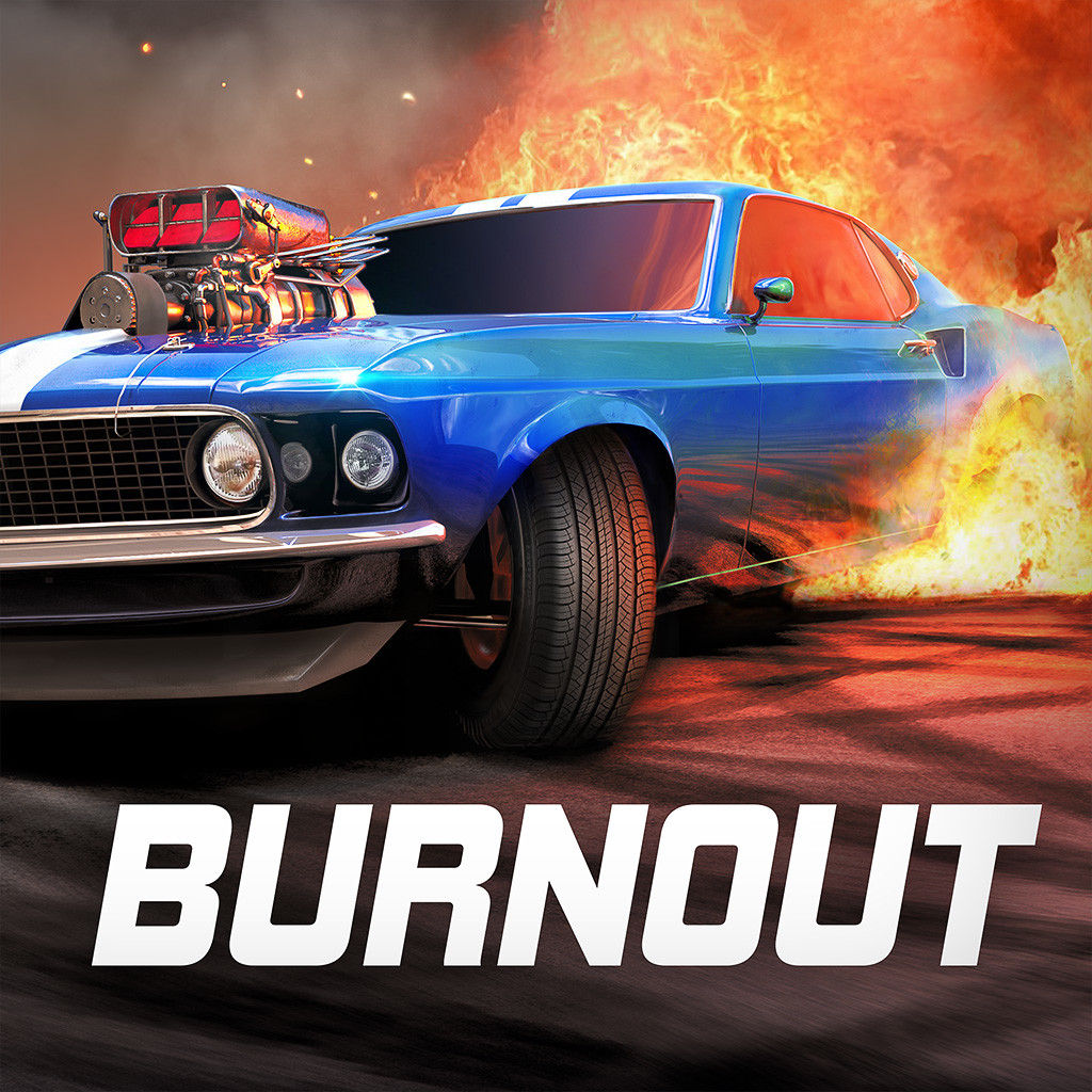 Torque Burnout Mustang App icon.
