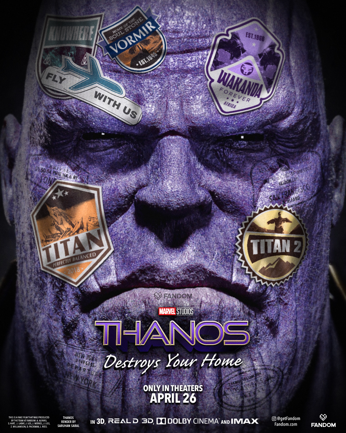 Thanos: Destroys Your Home