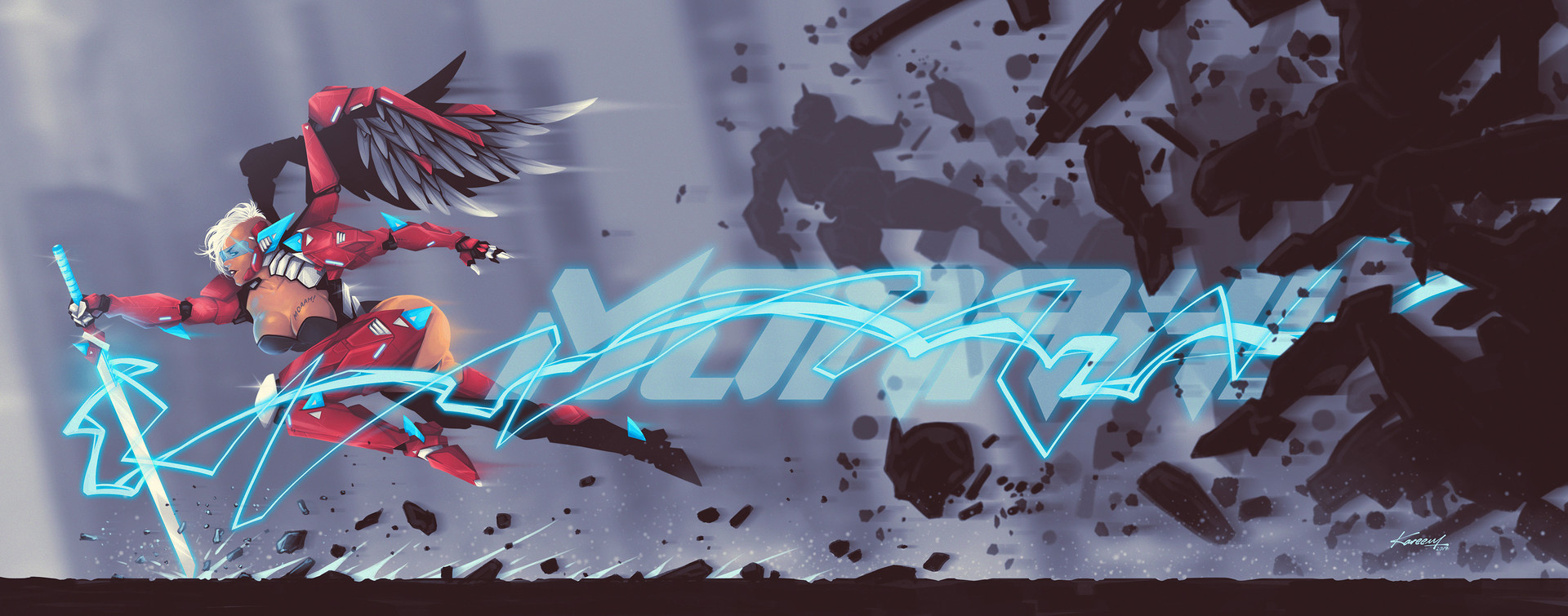 Final Concept for fighting scene.