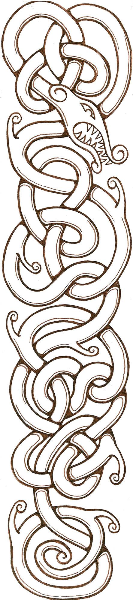 Artstation Viking Knot Jacob Thompson