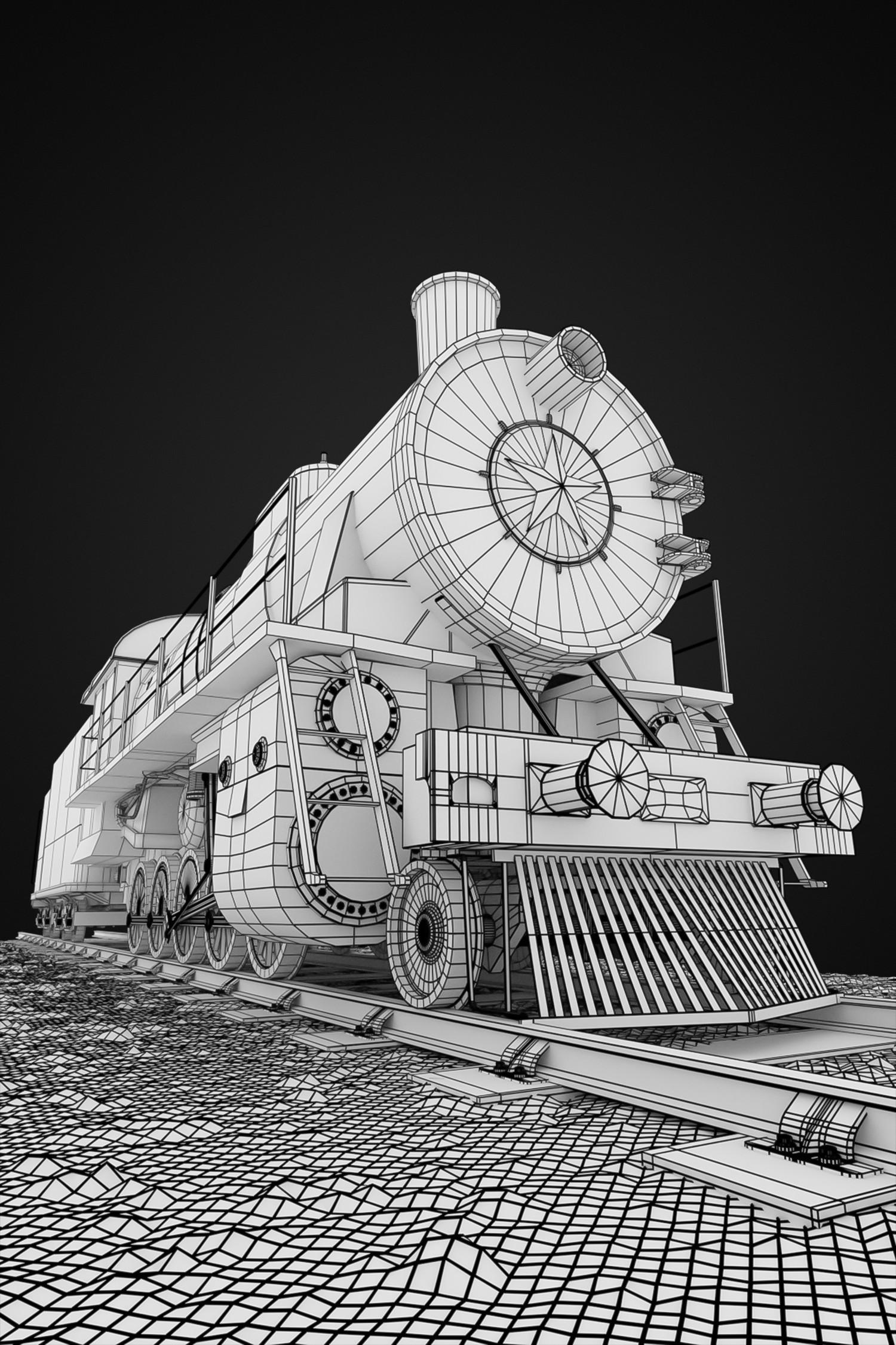 Ewa wierbik lokomotywa1 wireframe
