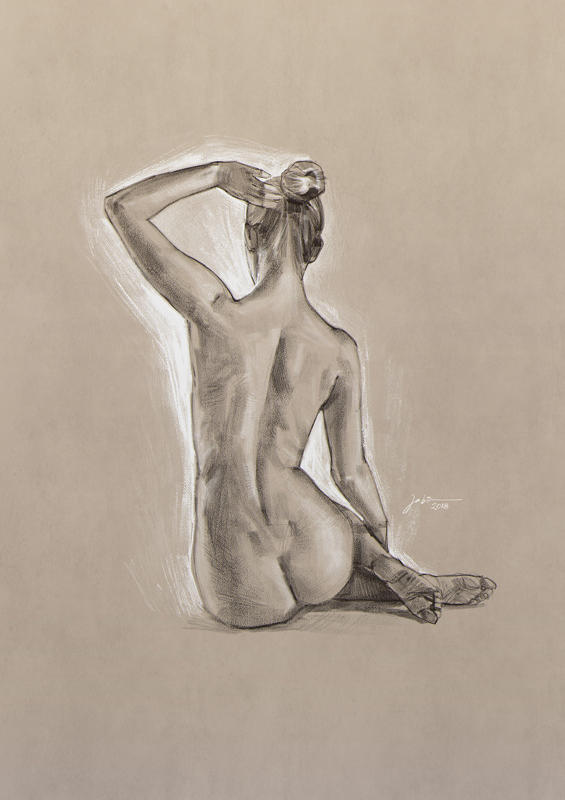 November nude study