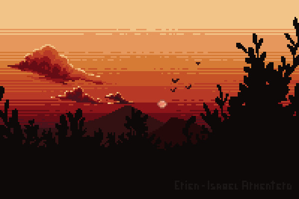 Pixel illustration #17