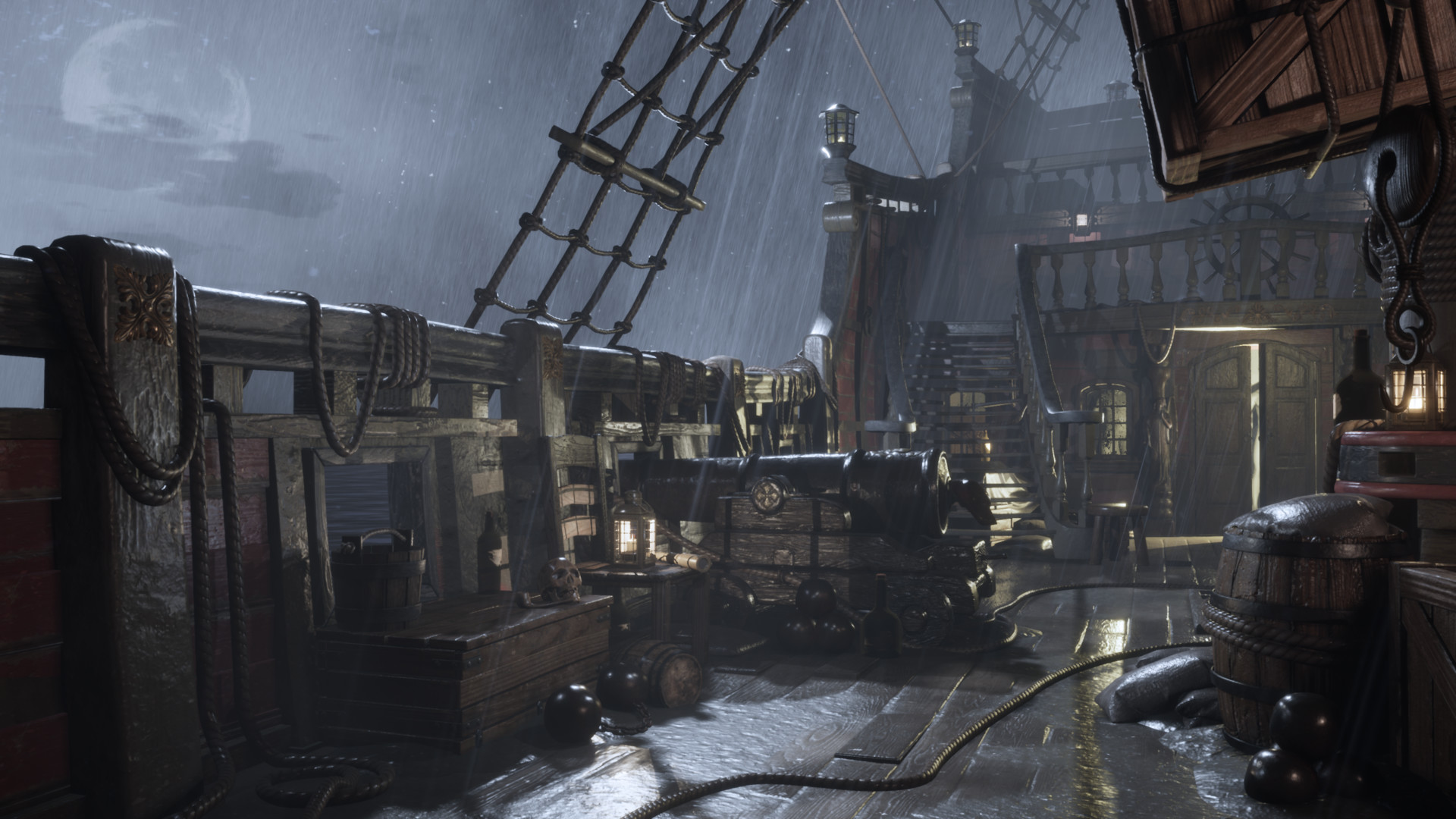 ArtStation - Pirate Ship , John Carney