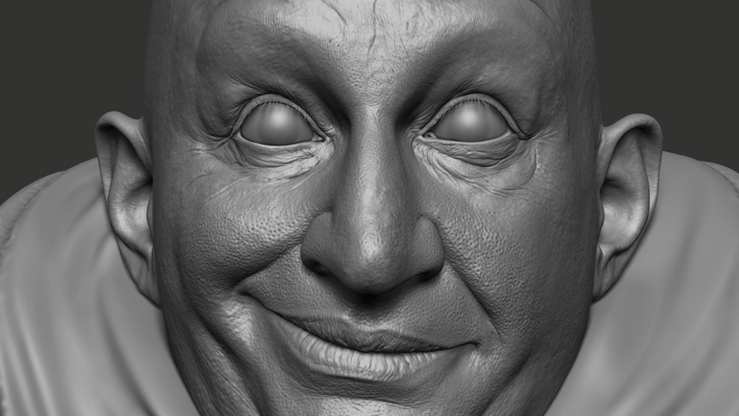 ZBrush Sculpt closeup