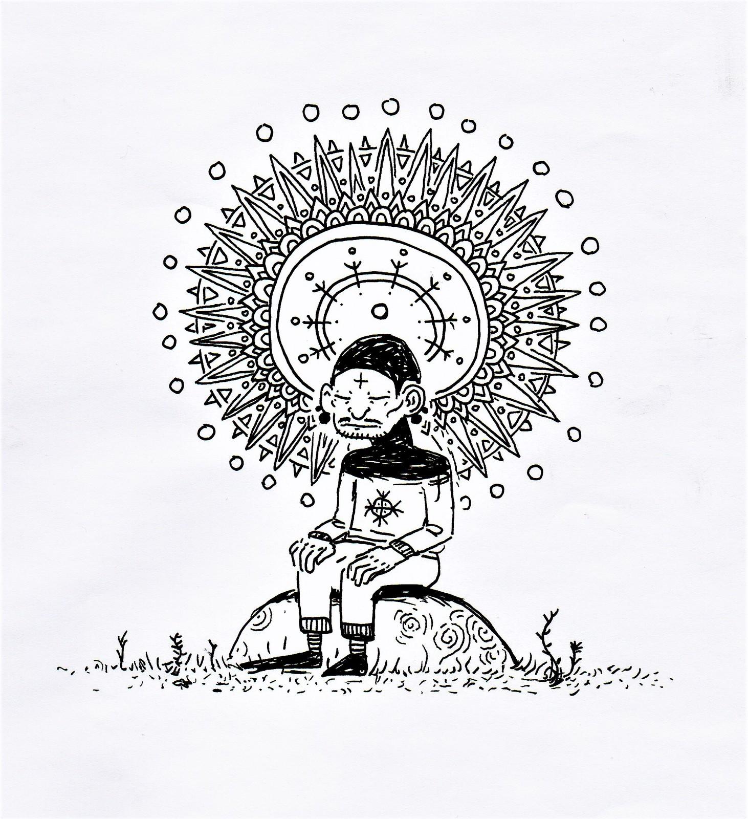 le méditant