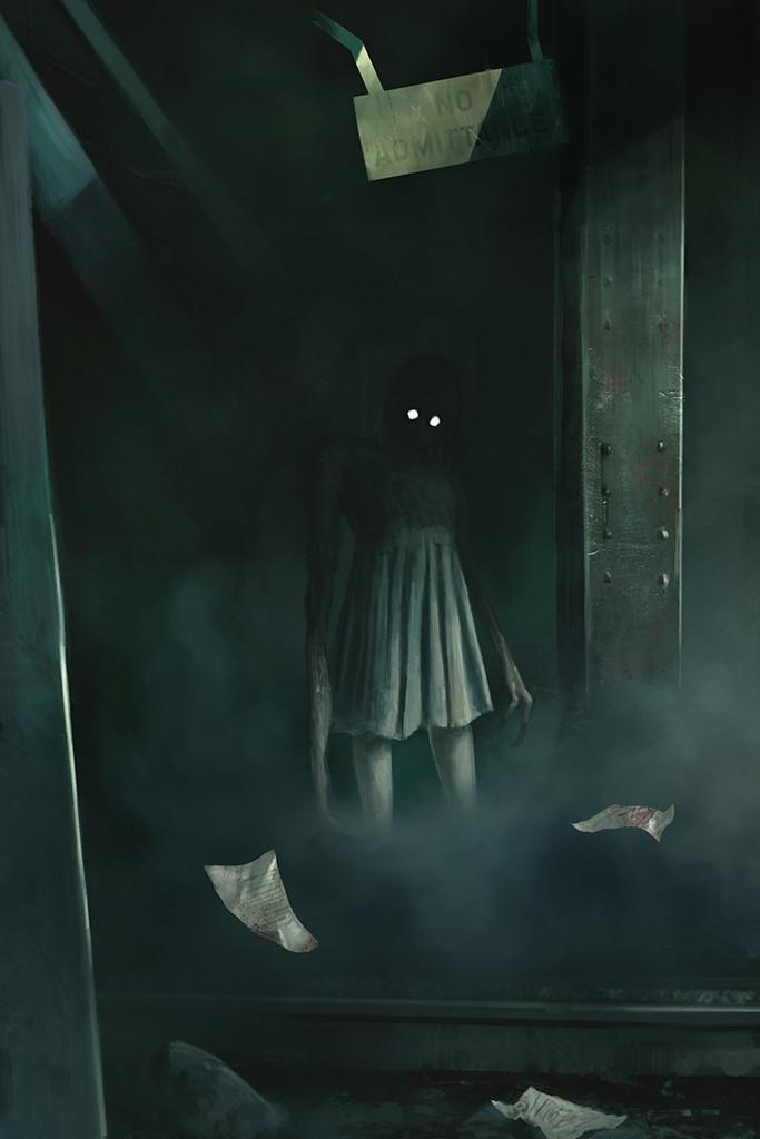 """"""" Cellars """" interior illustration"""