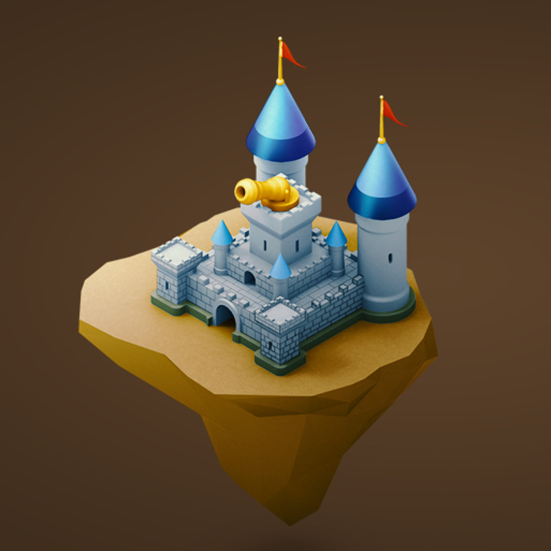 Isometric Medieval Game Items