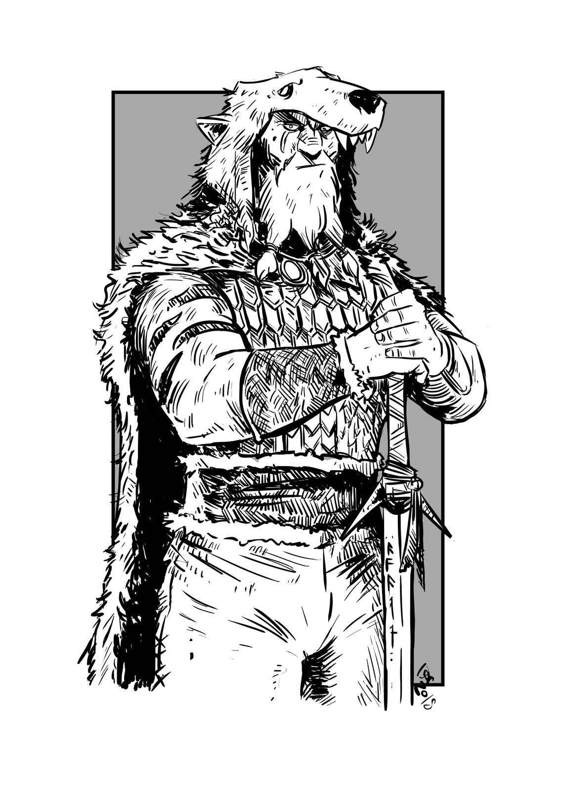 Viking Bear Warrior