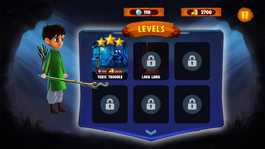 Syed Muhammad Ali - 2D Android Game UI Design