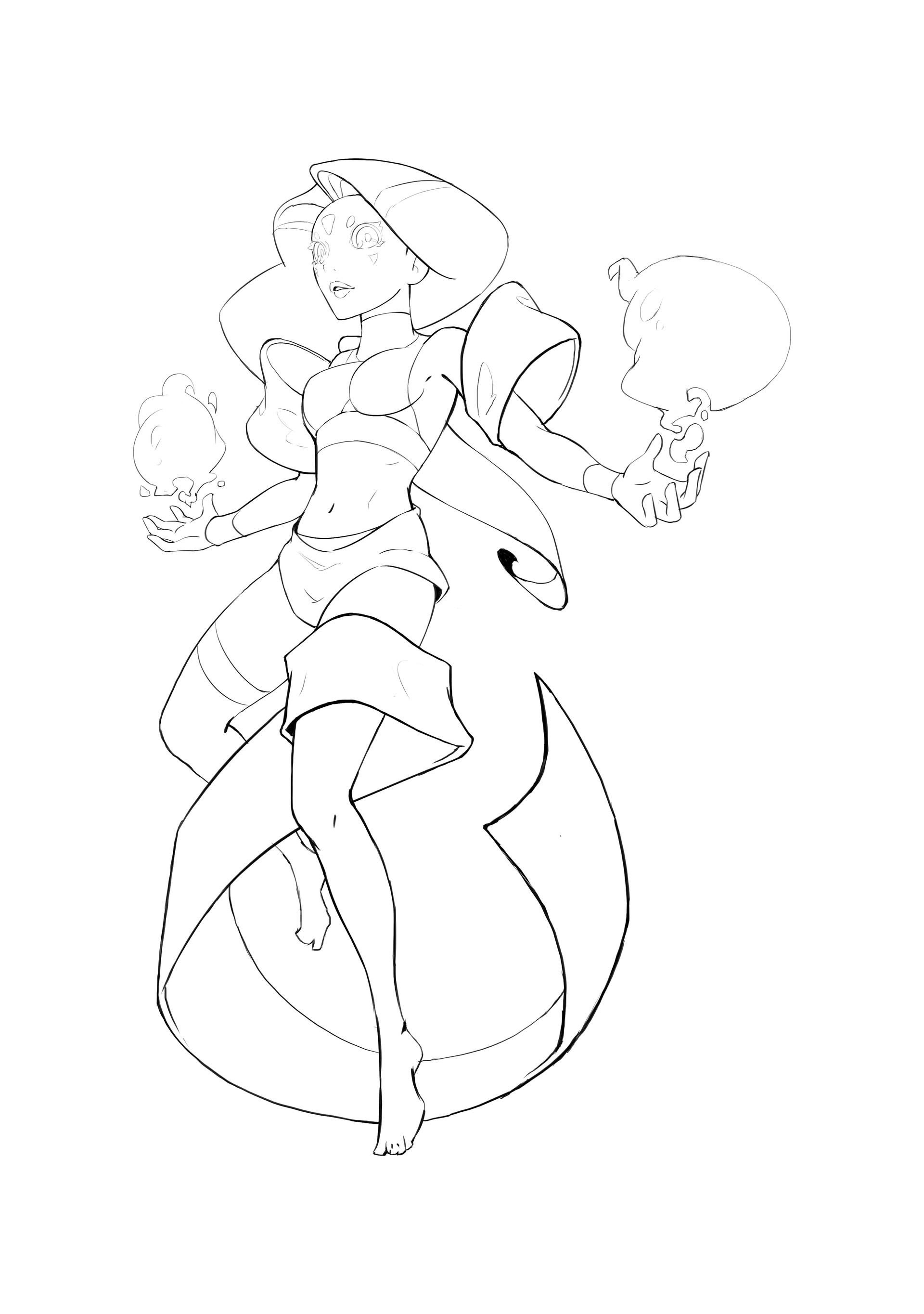 Michelle lo digamstest 02 lineart