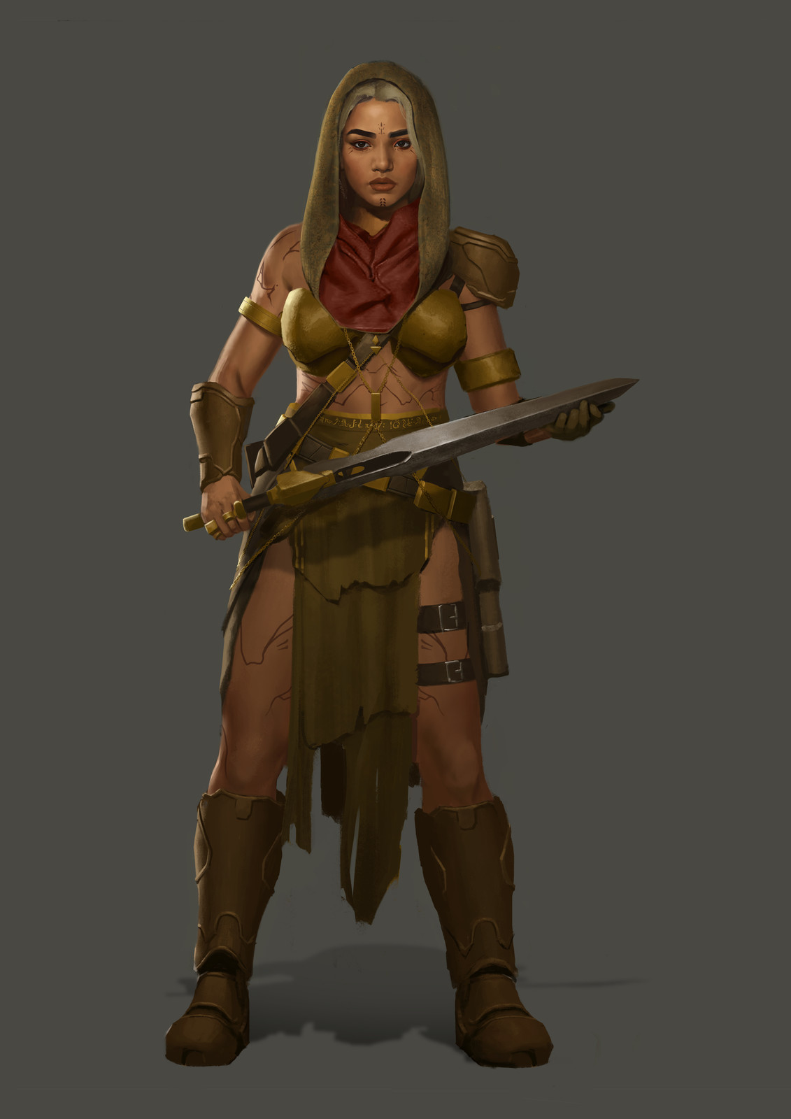 Female Nomad Warrior