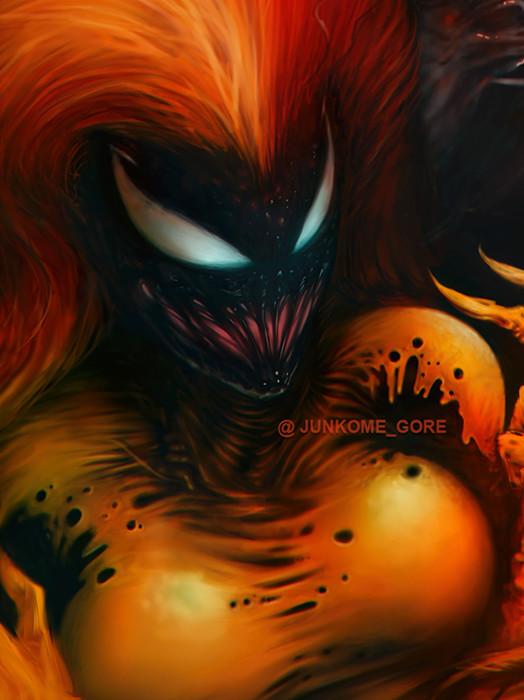 Résultats de recherche d'images pour «scream symbiote»