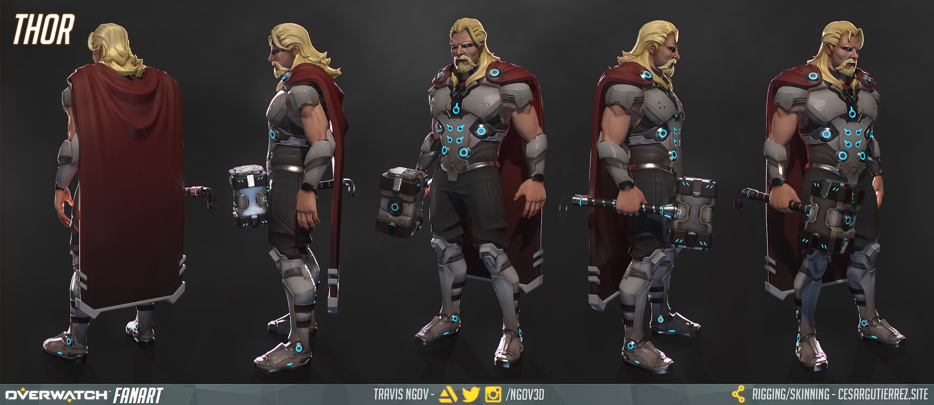 Thor - Turnaround (Posed)