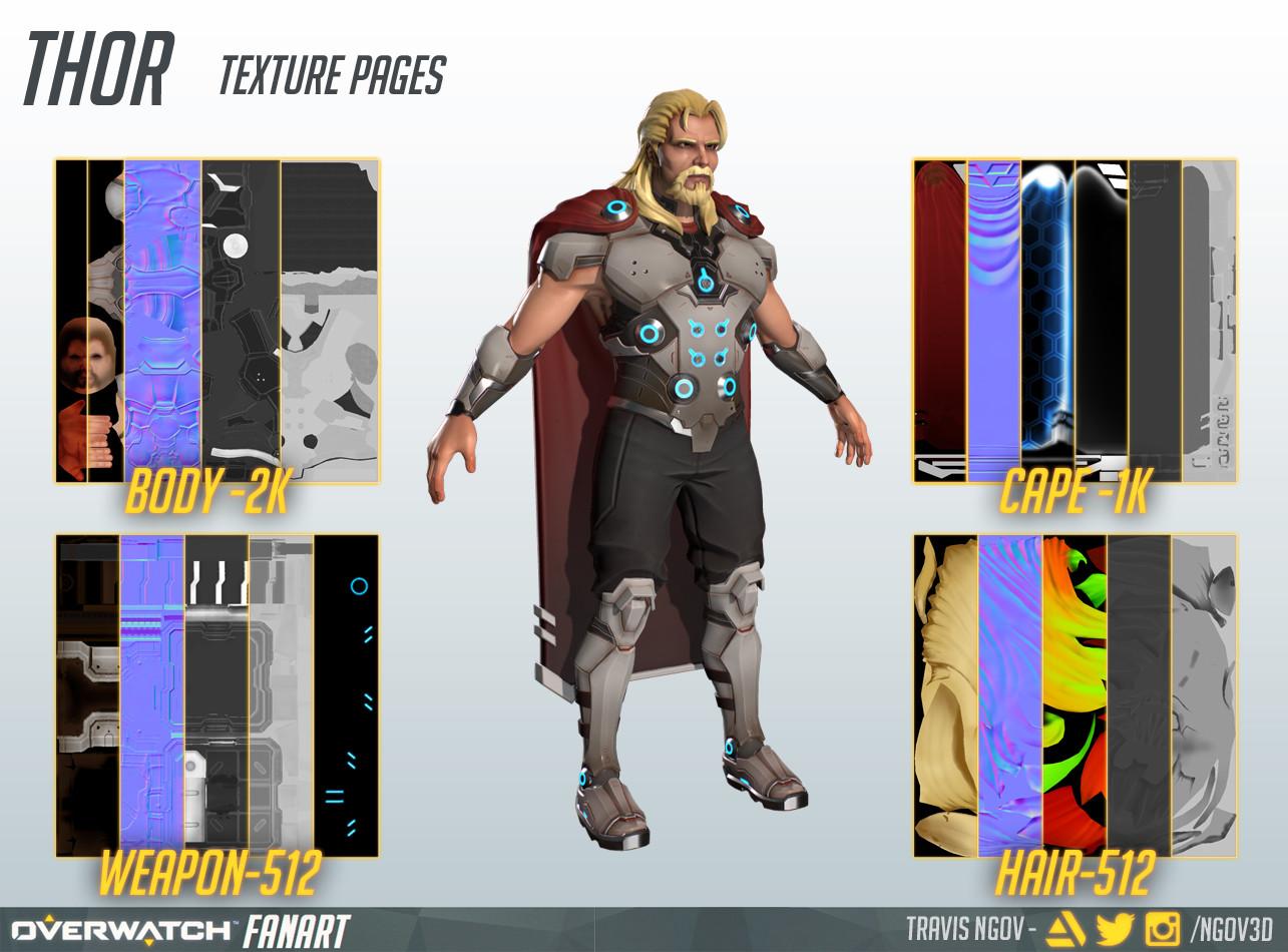 Travis ngov thor textures