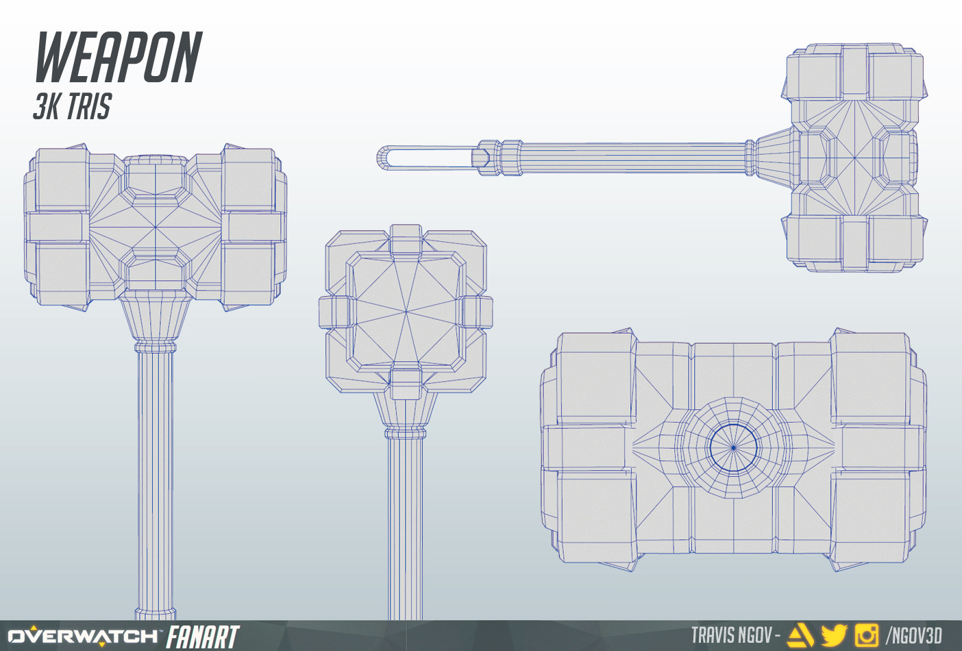 Travis ngov thor weapon wireframe