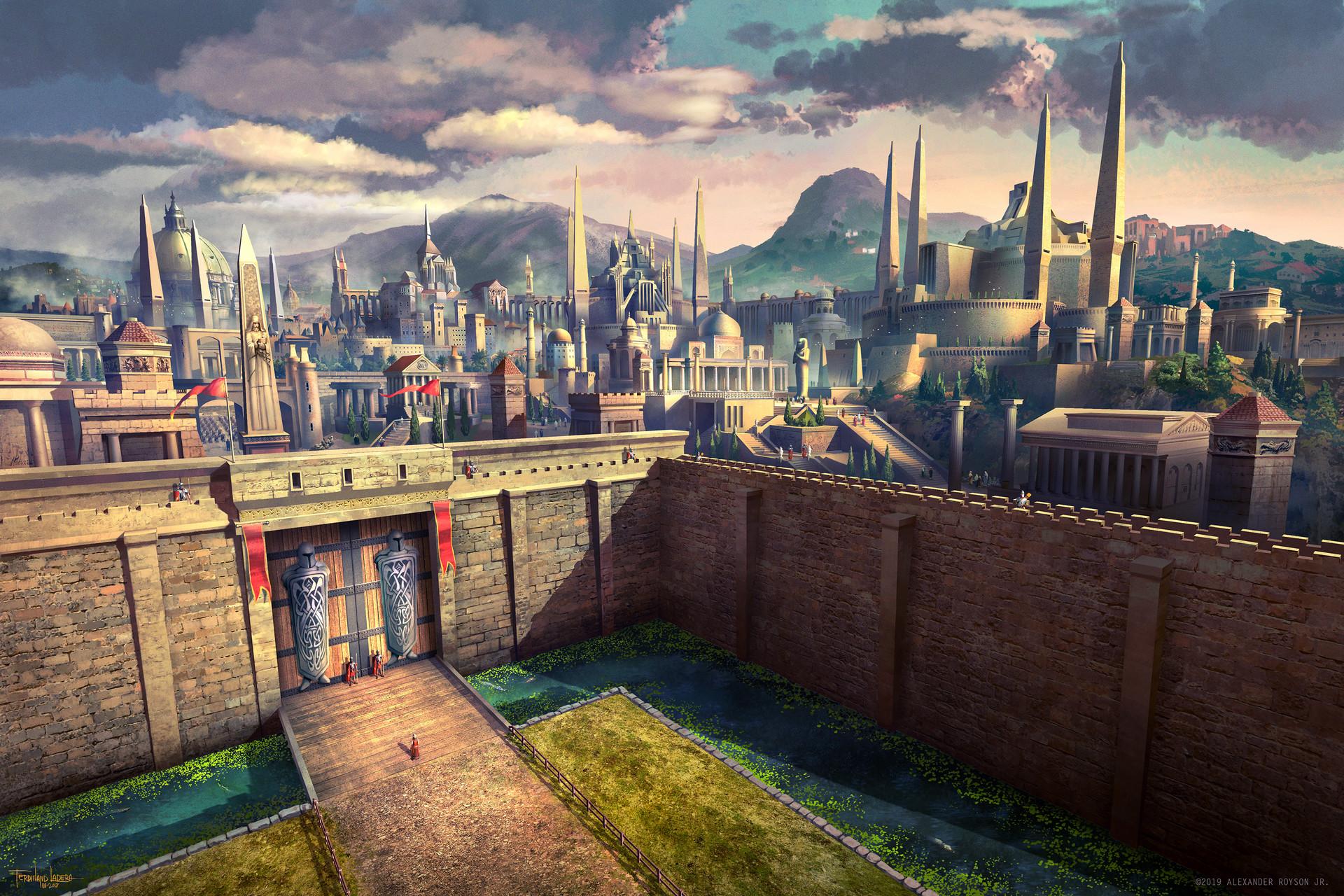 Ferdinand ladera gath the ancient city