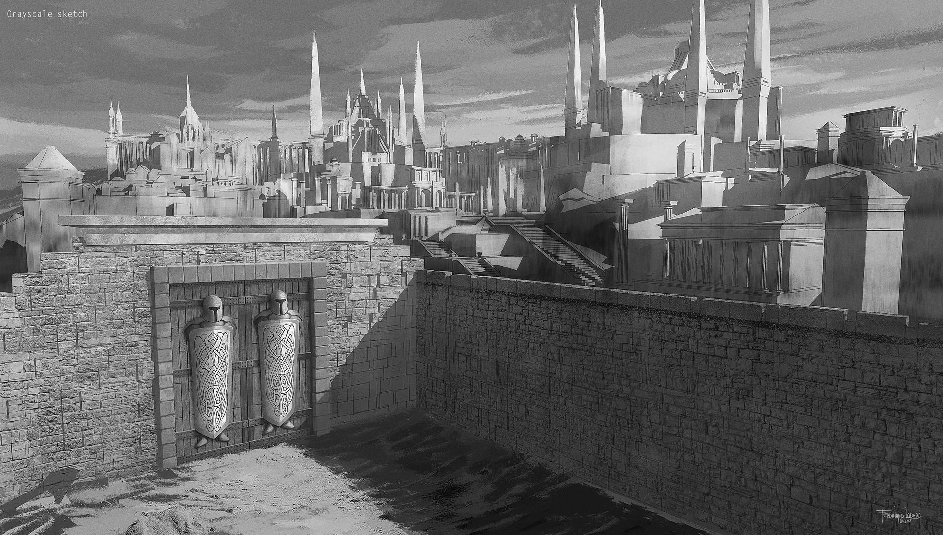 Ferdinand ladera gath ancient city bnw