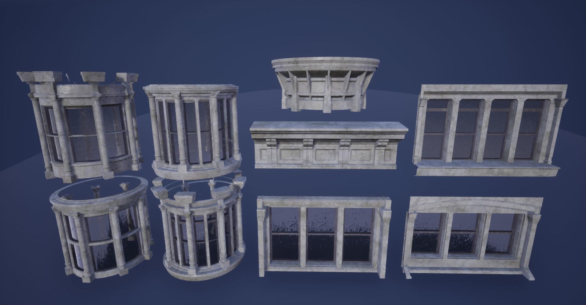 Corner Building Modules