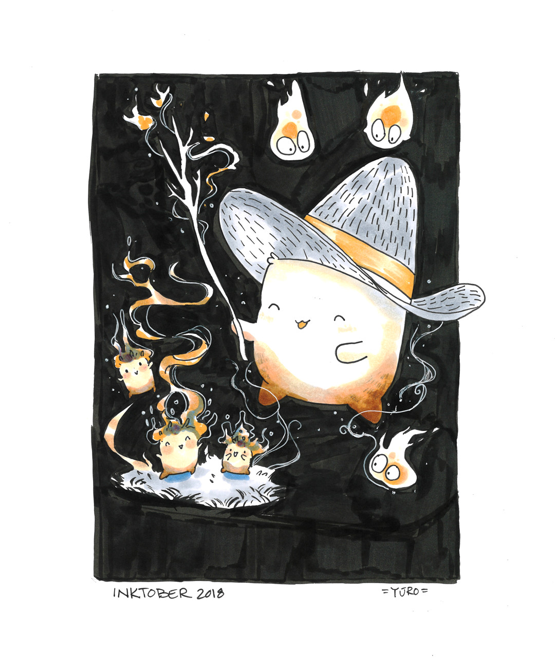 Mallow Wizard Conjuring Friends!
