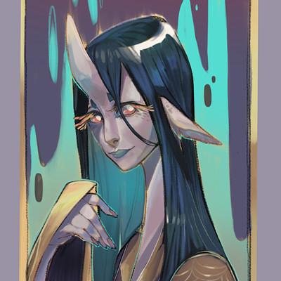 Kat hayashida demon girl2