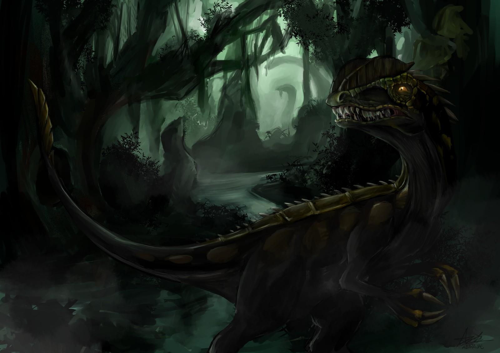 Swamp Dilophosaurus