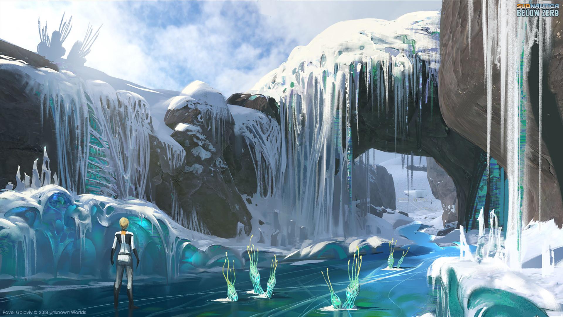 Pavel goloviy frozen river