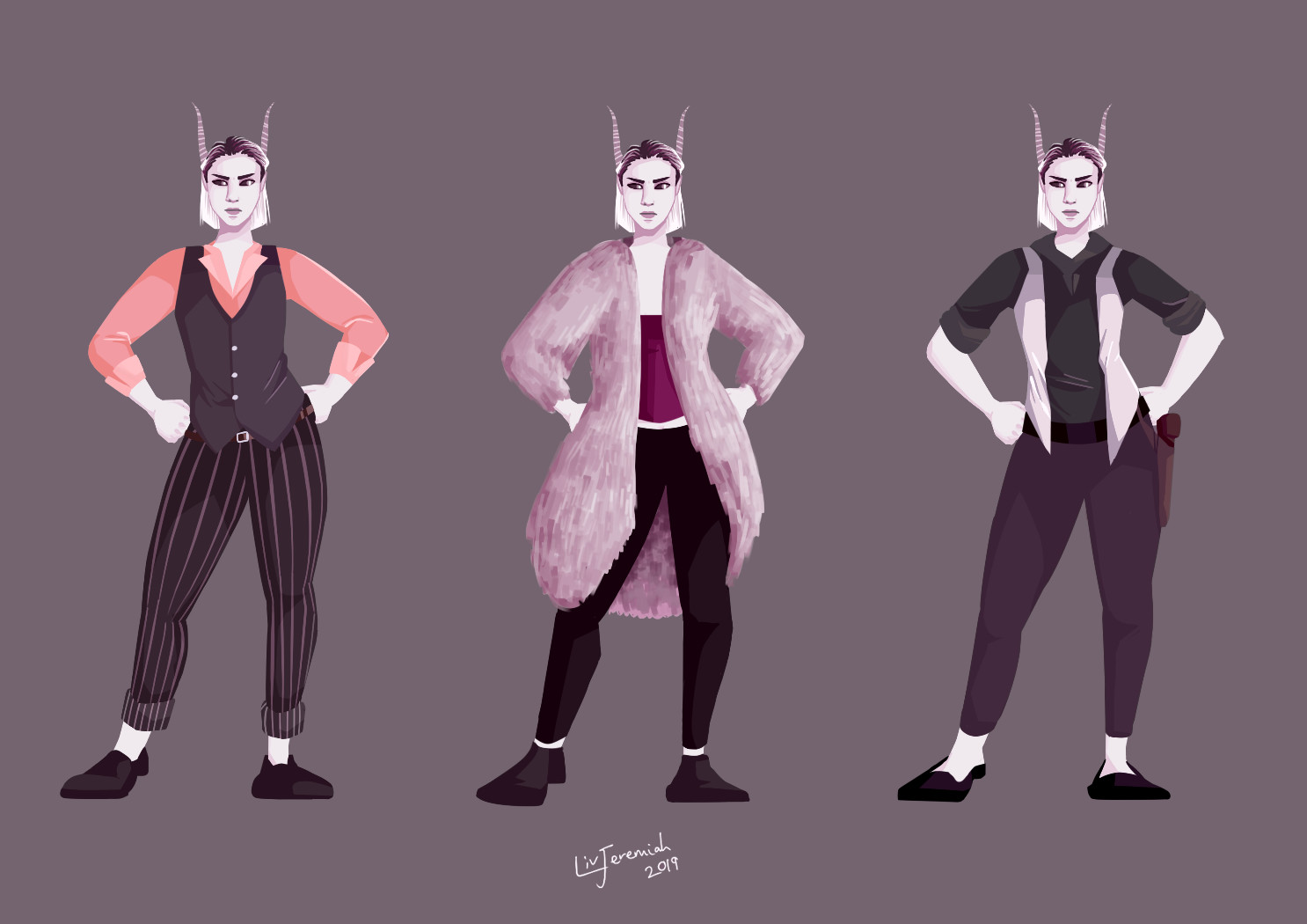 Lisette - Concept outfits