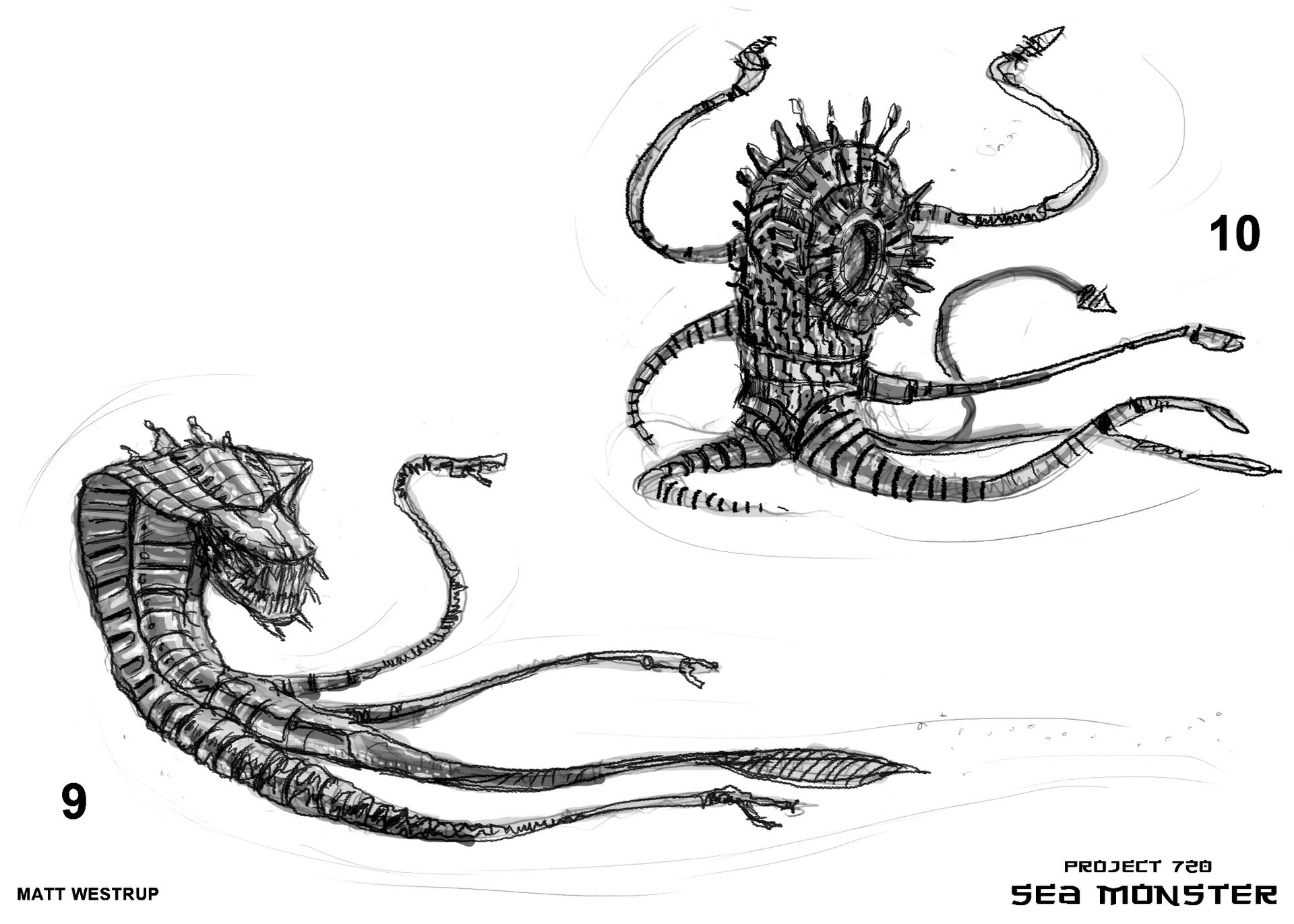 Character ark sea monster sketches 0005
