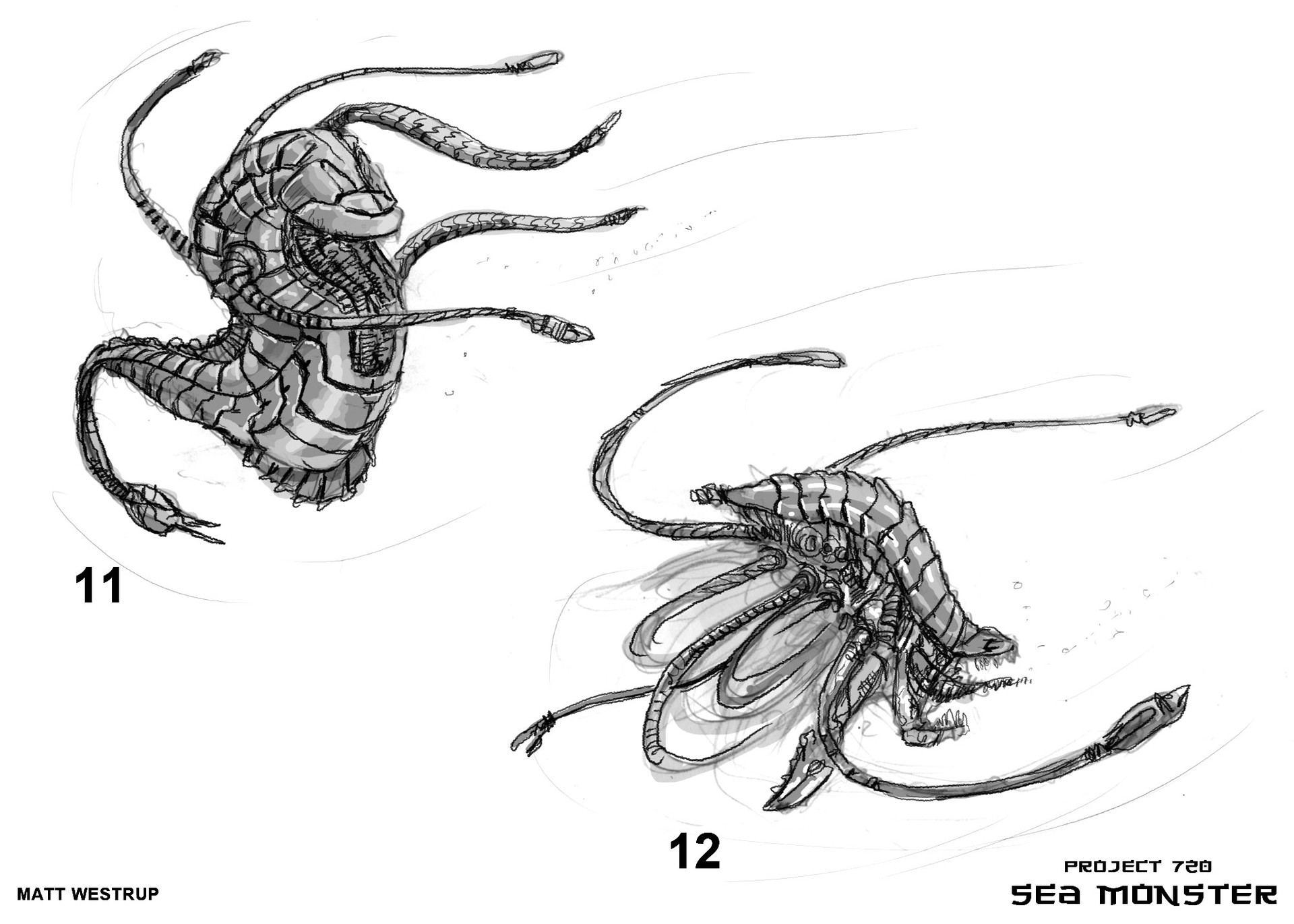 Character ark sea monster sketches 0006