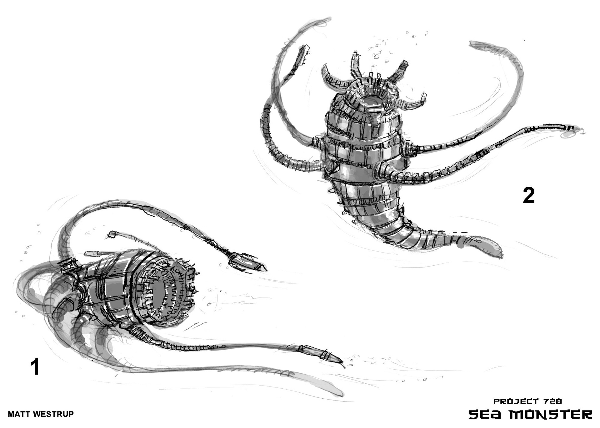 Character ark sea monster sketches 0001