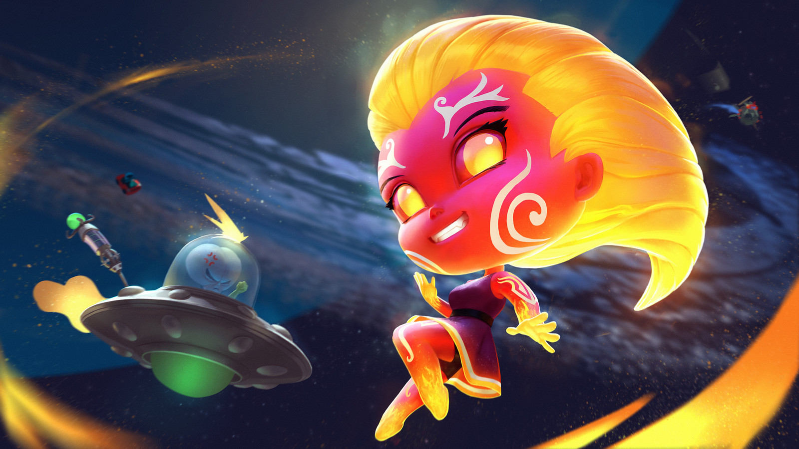 Steamy Chibi Sol Splash