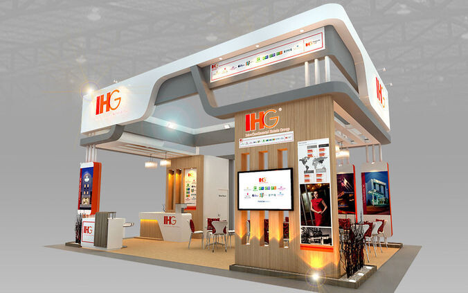 Exhibition Booth Animation : Supreme animation exhibition booth