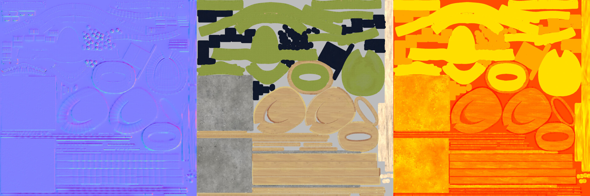 Eireni moutoussi furniture combined lp textures