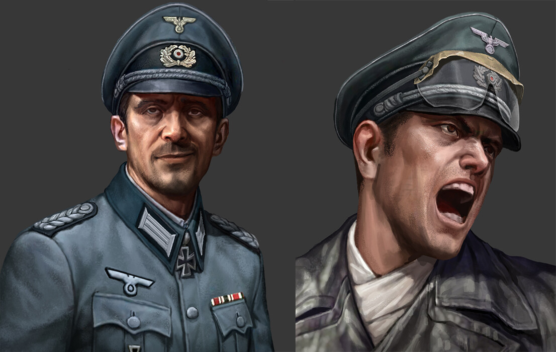 ArtStation - Road to Valor -ww2 : Wehrmacht[ German army