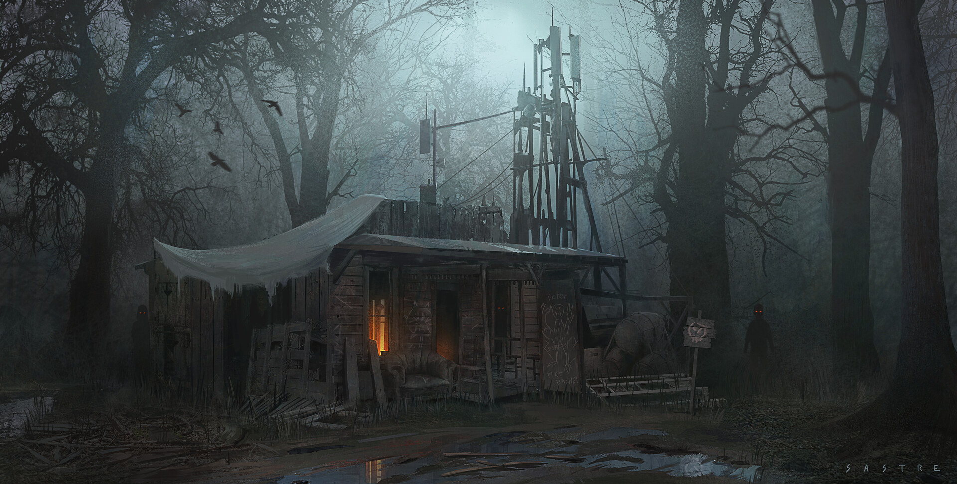 Miguel sastre forest hut final