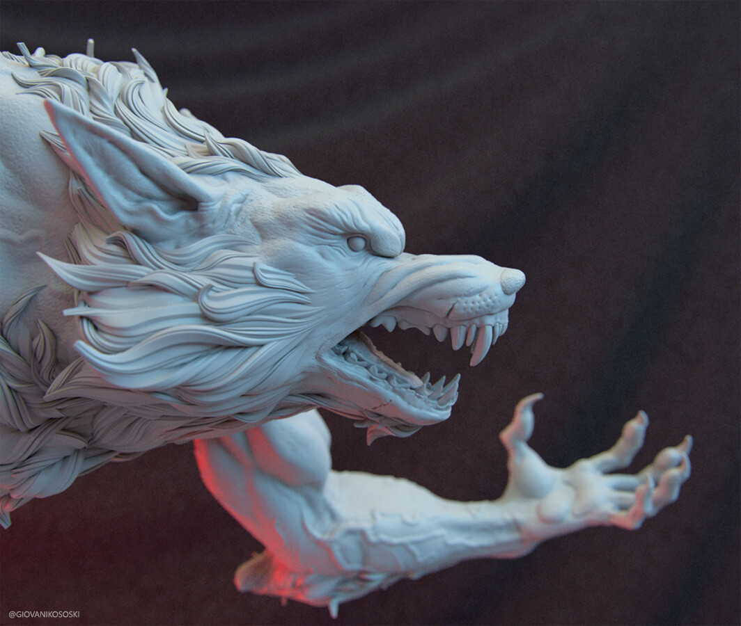 Giovani kososki werewolf close giovanikososki 01