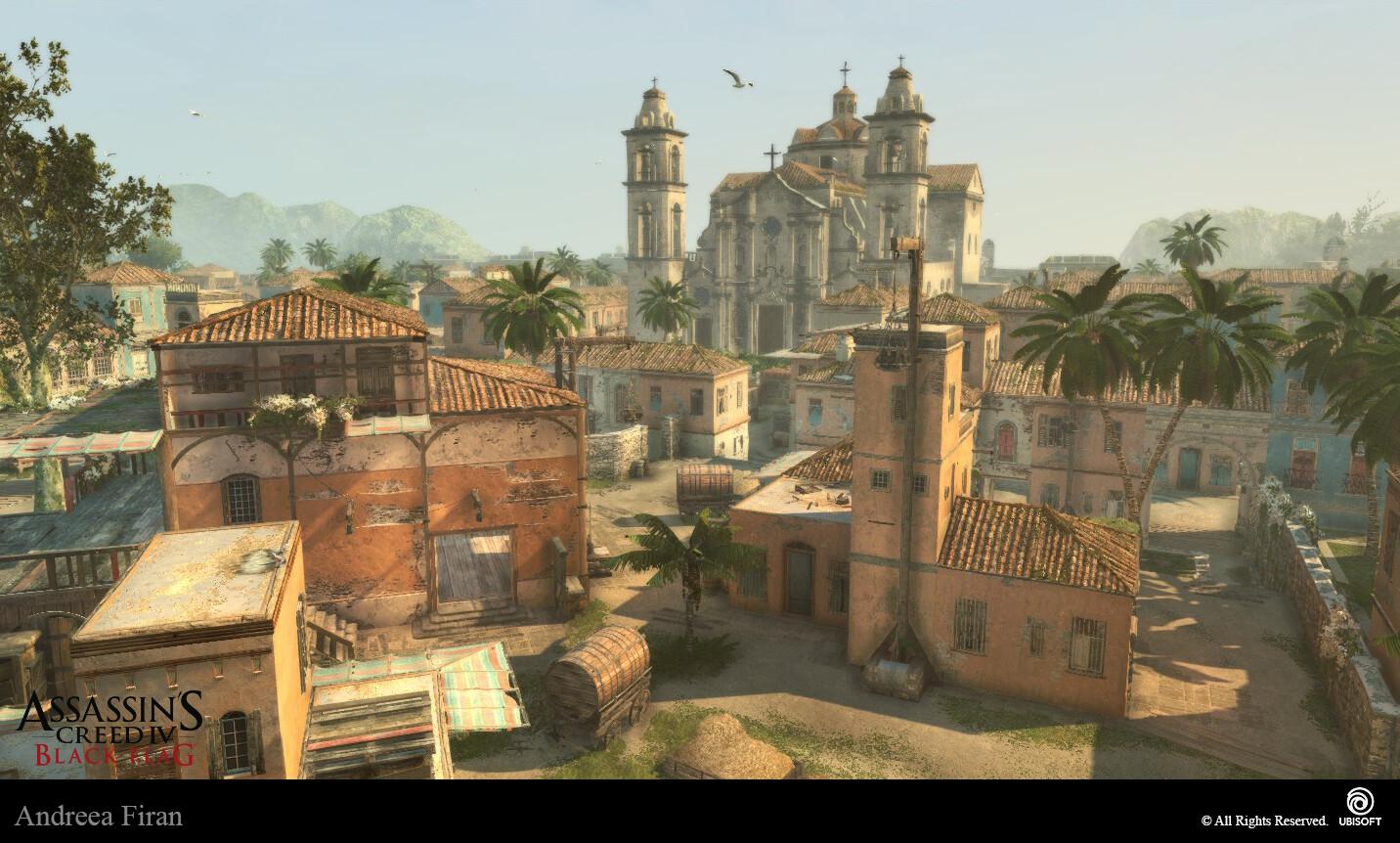 Artstation Assassin S Creed Iv Black Flag Havana Andreea Firan