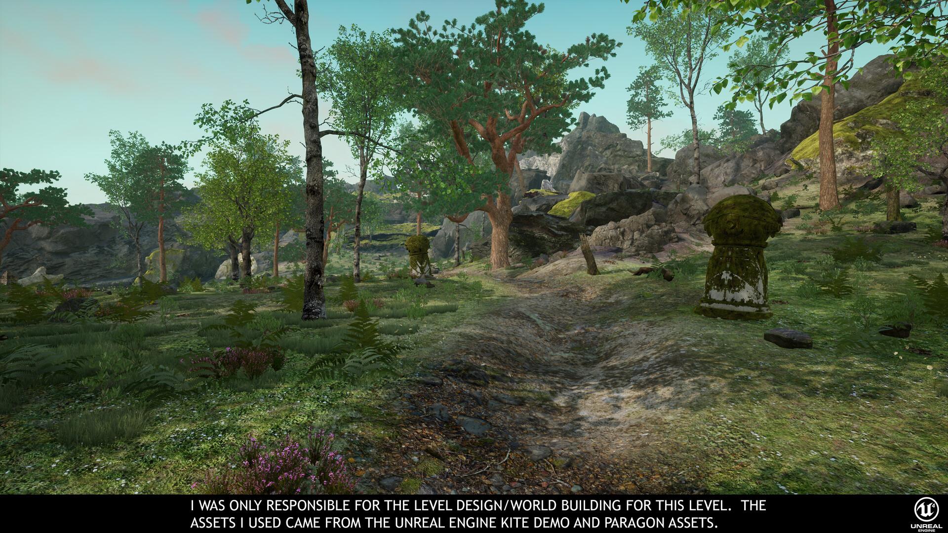 ArtStation - Unreal Engine Level Design/World Building Using
