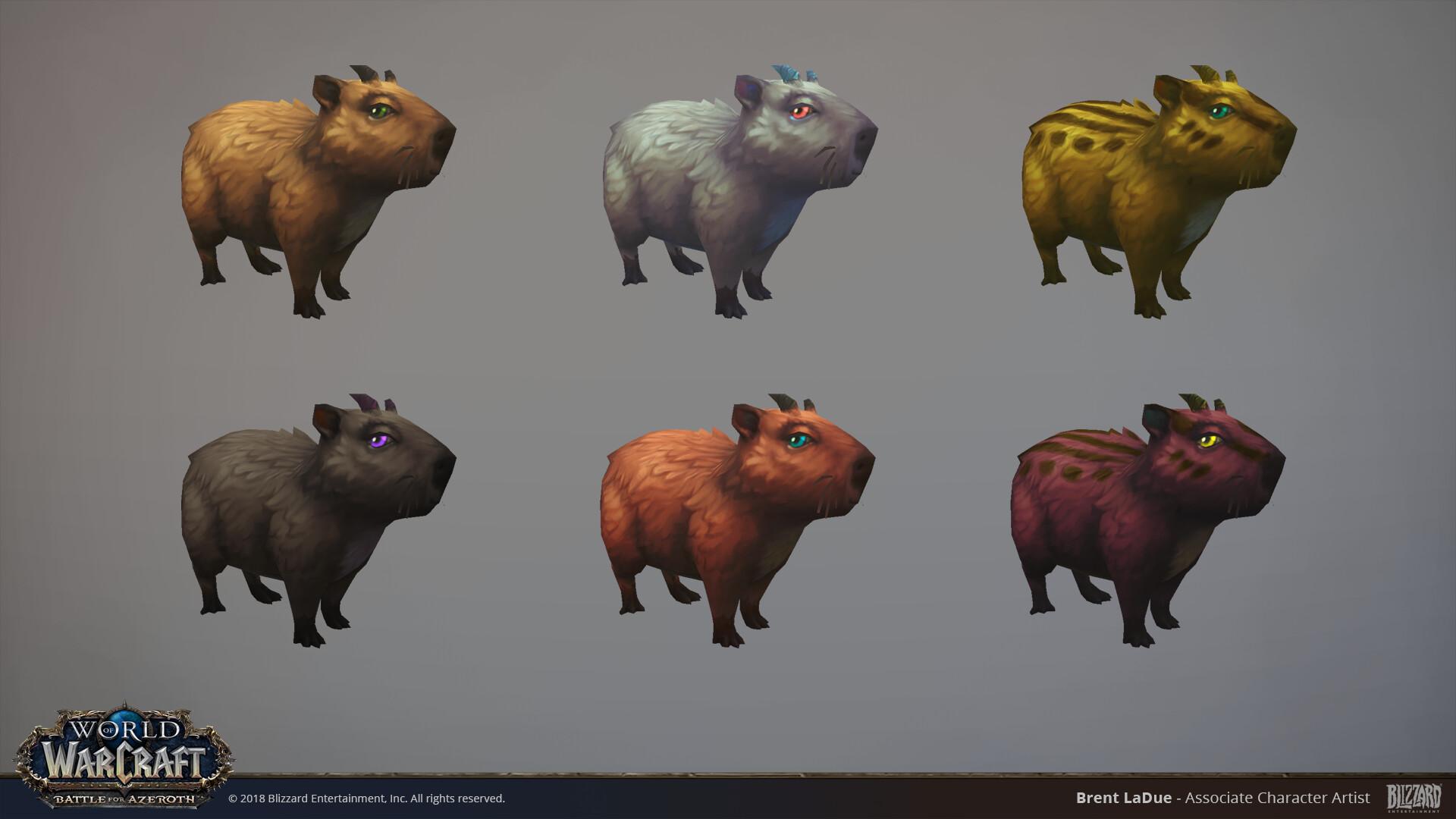 Brent ladue brentladue capybara