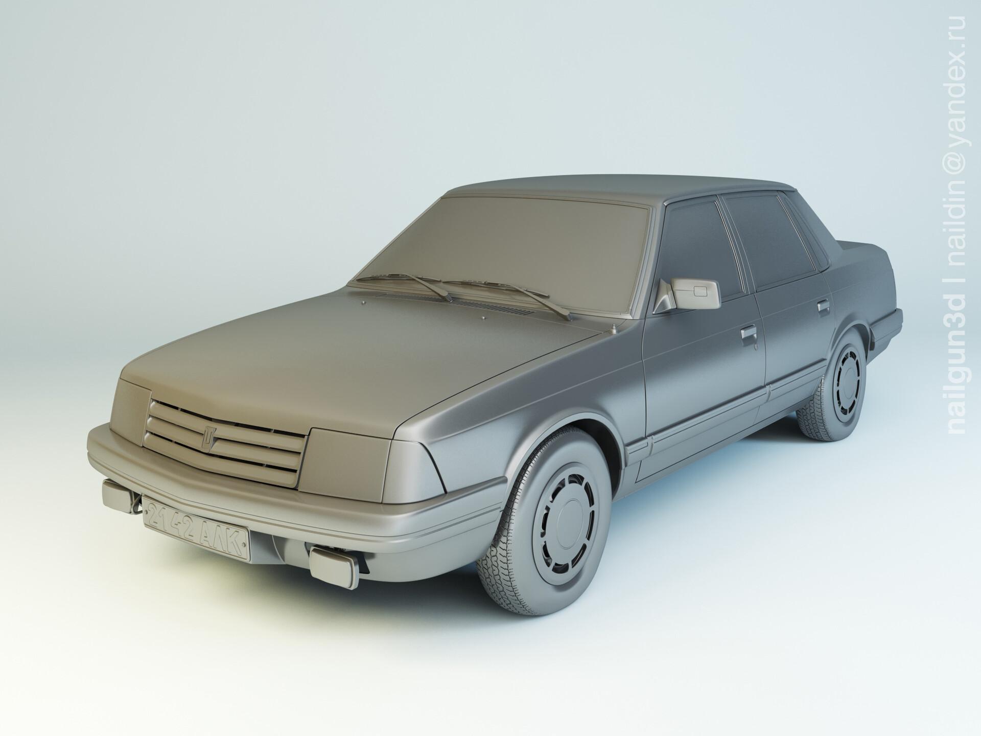 Nail khusnutdinov als 240 006 azlk 2142 moskvitch modelling 0