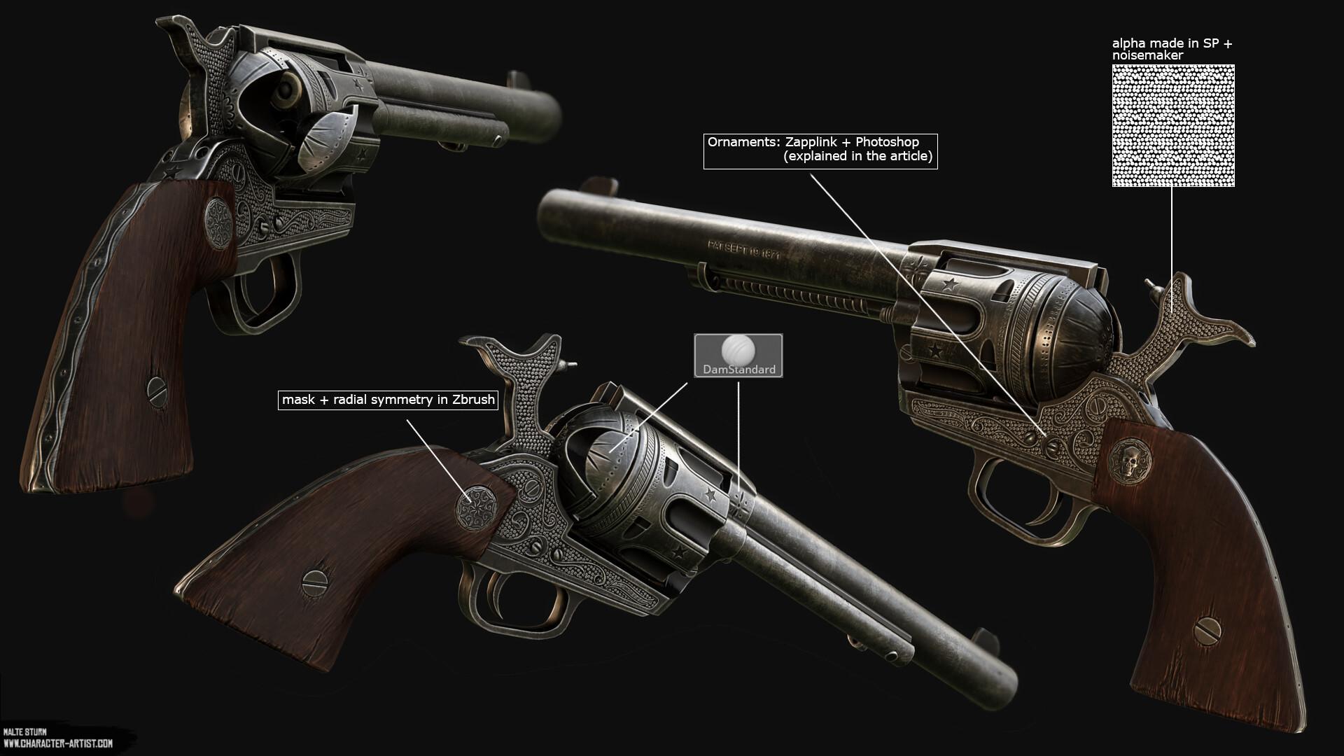 Malte sturm revolver overview