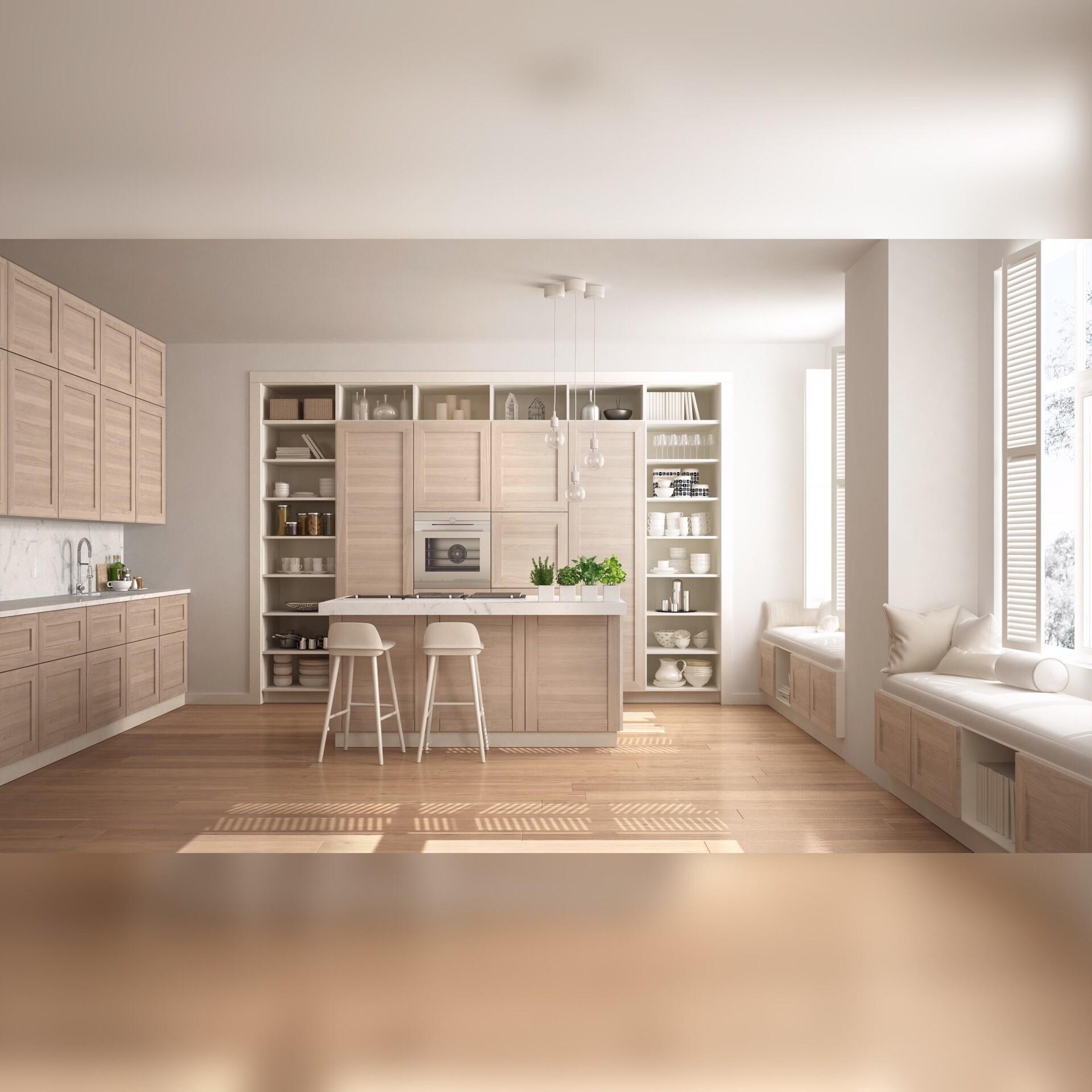 Andrea Zen - Kitchen Design Render