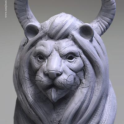 Surajit sen calygrey digital sculpt surajitsen jan2019