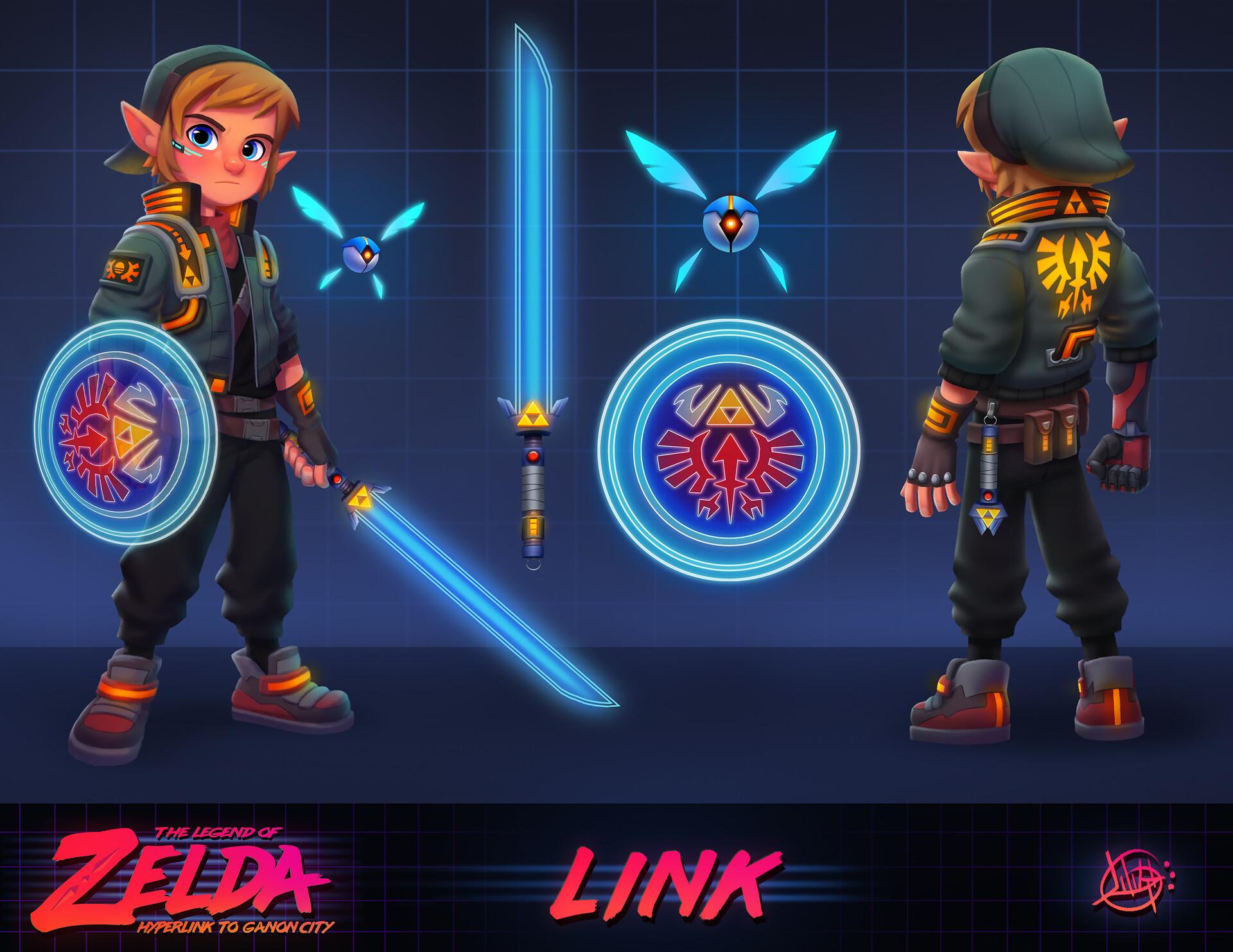 Luigi lucarelli cyberpunk link concept 2