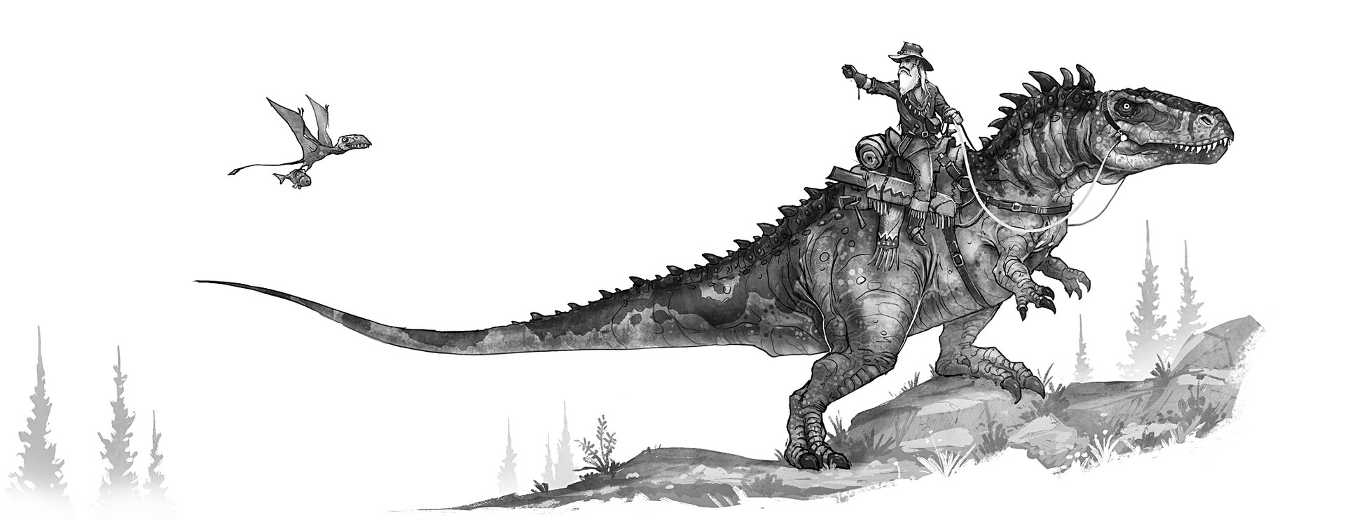 Shaun Keenan - Dinosaurs of the Wild West