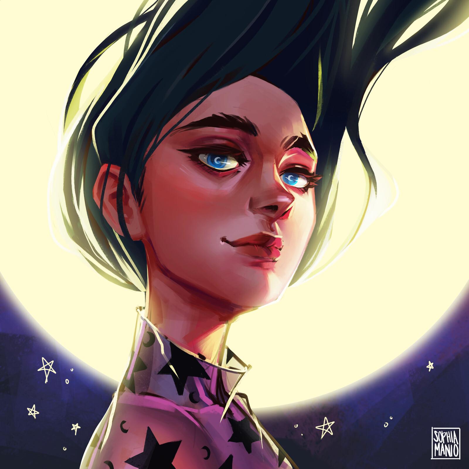 Moon Girl - 1